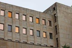 Berlin Tyskland (splitterny byggnad, moderna konstruktioner efter WW2) Royaltyfri Bild