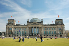 berlin tyskparlament Royaltyfri Bild