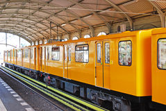 Berlin u-bahn Royalty Free Stock Image