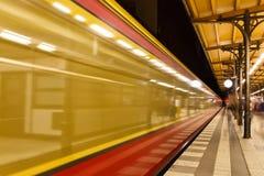 Berlin-U-Bahn Stockfoto