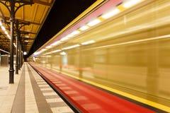 Berlin-U-Bahn Stockfotos