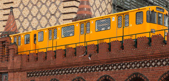 Berlin U-Bahn Stock Images