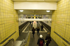 Berlin underground Royalty Free Stock Images