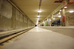 Berlin Underground. Subway Station under construction - Berlin, Germany Royalty Free Stock Image
