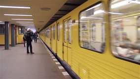 Berlin underground stock video footage