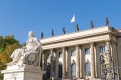 berlin uniwersytet Obrazy Royalty Free