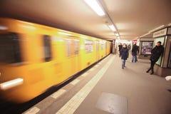 Berlin Untertage stockbild