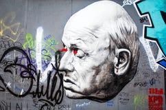 berlin vägg Arkivfoton