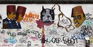 berlin vägg royaltyfria foton