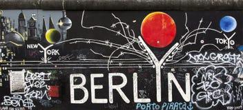 berlin vägg Arkivfoto