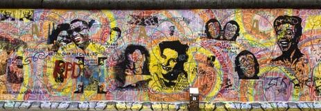 berlin vägg Fotografering för Bildbyråer