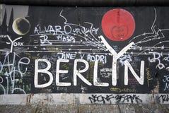berlin vägg Royaltyfri Foto