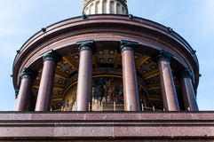 Berlin Victory Column à Berlin (Allemagne) image libre de droits