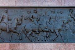 Berlin Victory Column à Berlin (Allemagne) images libres de droits