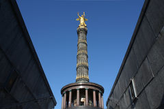 Berlin Victory Column stock image