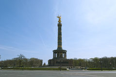 Berlin Victory Column Images libres de droits
