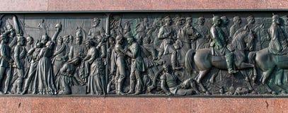 Berlin Victory Column in Berlijn (Duitsland) Royalty-vrije Stock Foto's