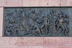 Berlin Victory Column in Berlijn (Duitsland) Royalty-vrije Stock Foto