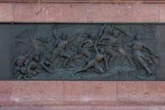 Berlin Victory Column in Berlijn (Duitsland) Stock Foto
