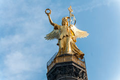 Berlin Victory Column in Berlin (Germany) Stock Image