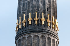 Berlin Victory Column a Berlino (Germania) Immagini Stock Libere da Diritti
