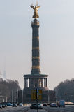 Berlin Victory Column a Berlino (Germania) Immagine Stock