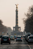 Berlin Victory Column a Berlino (Germania) Fotografie Stock
