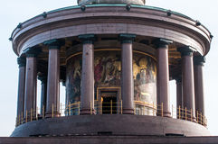 Berlin Victory Column em Berlim (Alemanha) Imagens de Stock