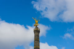 Berlin Victory Column Stock Photo