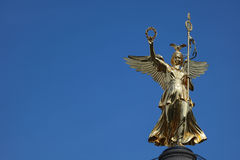 Berlin Victory Column (Siegessaeule) Royalty Free Stock Images