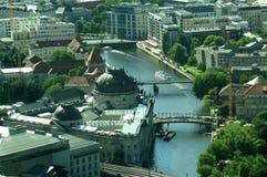 Berlin vom Fernsehkontrollturm Stockbild