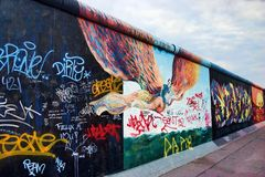 Berlin-The wall Stock Images