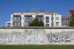 The Berlin Wall 2012 Royalty Free Stock Photography