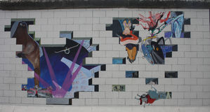 Berlin wall Royalty Free Stock Image