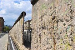 Berlin Wall Arkivbild