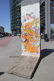 Berlin Wall Royaltyfria Bilder
