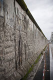 Berlin Wall. Fragment of Berlin wall. Shallow depth of field Royalty Free Stock Images