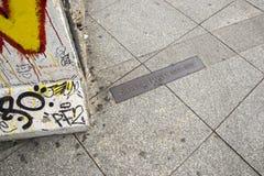 berlin wall Obrazy Stock