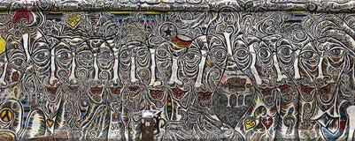 berlin wall Zdjęcia Stock