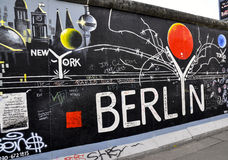 berlin wall Obraz Royalty Free
