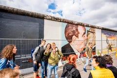 Berlin wall art Royalty Free Stock Image