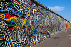 Berlin Wall, Berlin Germany. Stock Photo