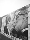 Berlin wall in Berlin, Germany. Stock Images