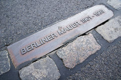 Berlin wall (Berliner Mauer) Royalty Free Stock Photo