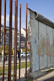 Berlin Wall. The Berlin Wall (Berliner Mauer) in Germany Royalty Free Stock Photos