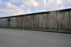 Berlin Wall (berlineren Mauer) i Tyskland Royaltyfria Foton