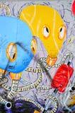 Berlin Wall (Bewohner von Berlin Mauer) in Deutschland Lizenzfreies Stockfoto