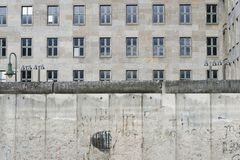 Berlin wall by day Royalty Free Stock Photos