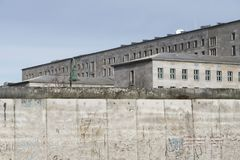 Berlin wall by daytime Royalty Free Stock Image