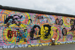 Berlin Wall Detail Photo stock